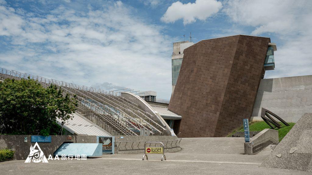 十三行考古公園旁邊就是博物館了