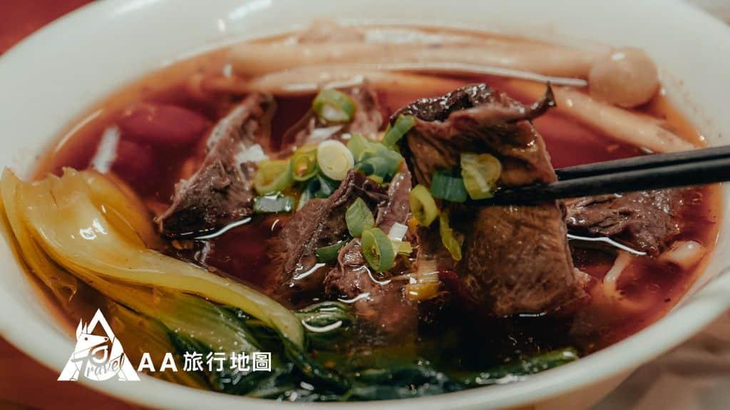 大山北月 中餐是點羊肉麵,肉很大一塊,味道是走比較清淡的口味
