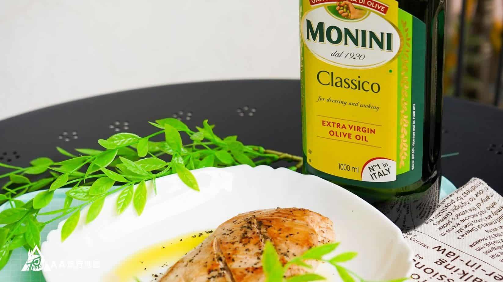 monini 煎好的肉上桌嘍,有沒有很漂亮