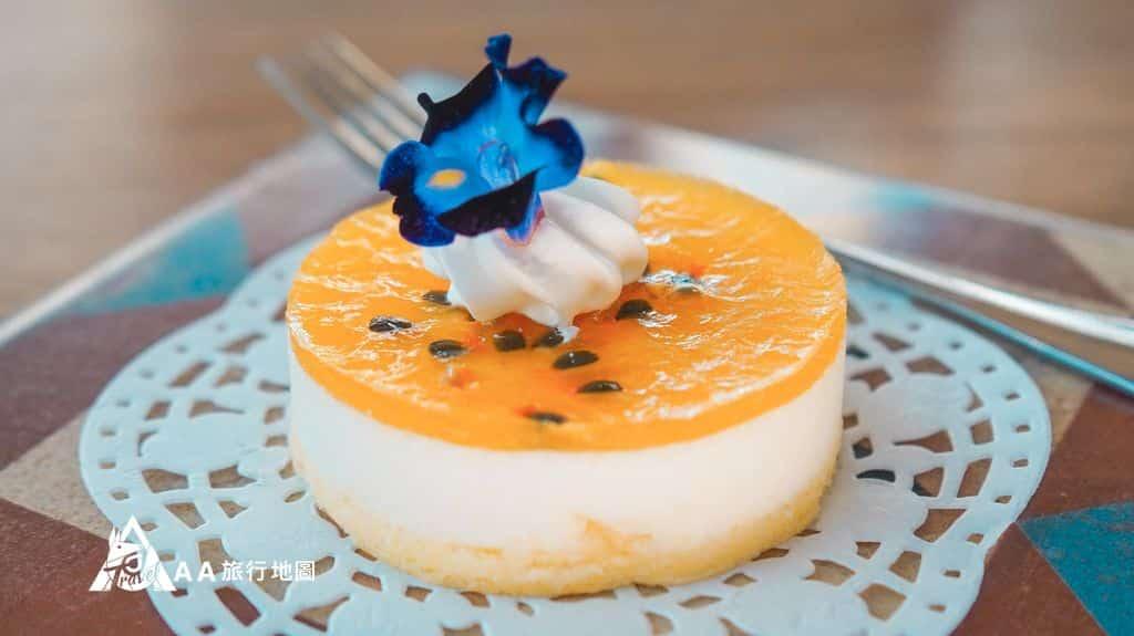 水灣餐廳榕堤季節水果慕斯