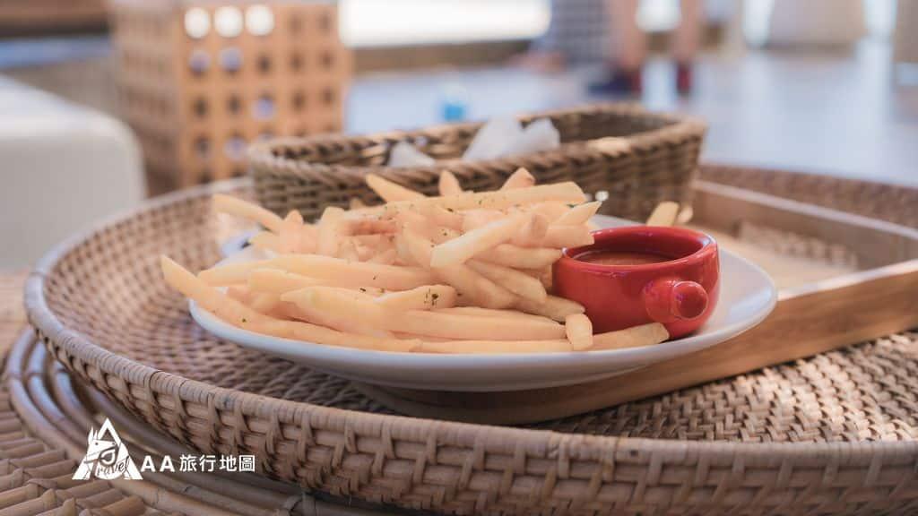 滿山望海炸薯條