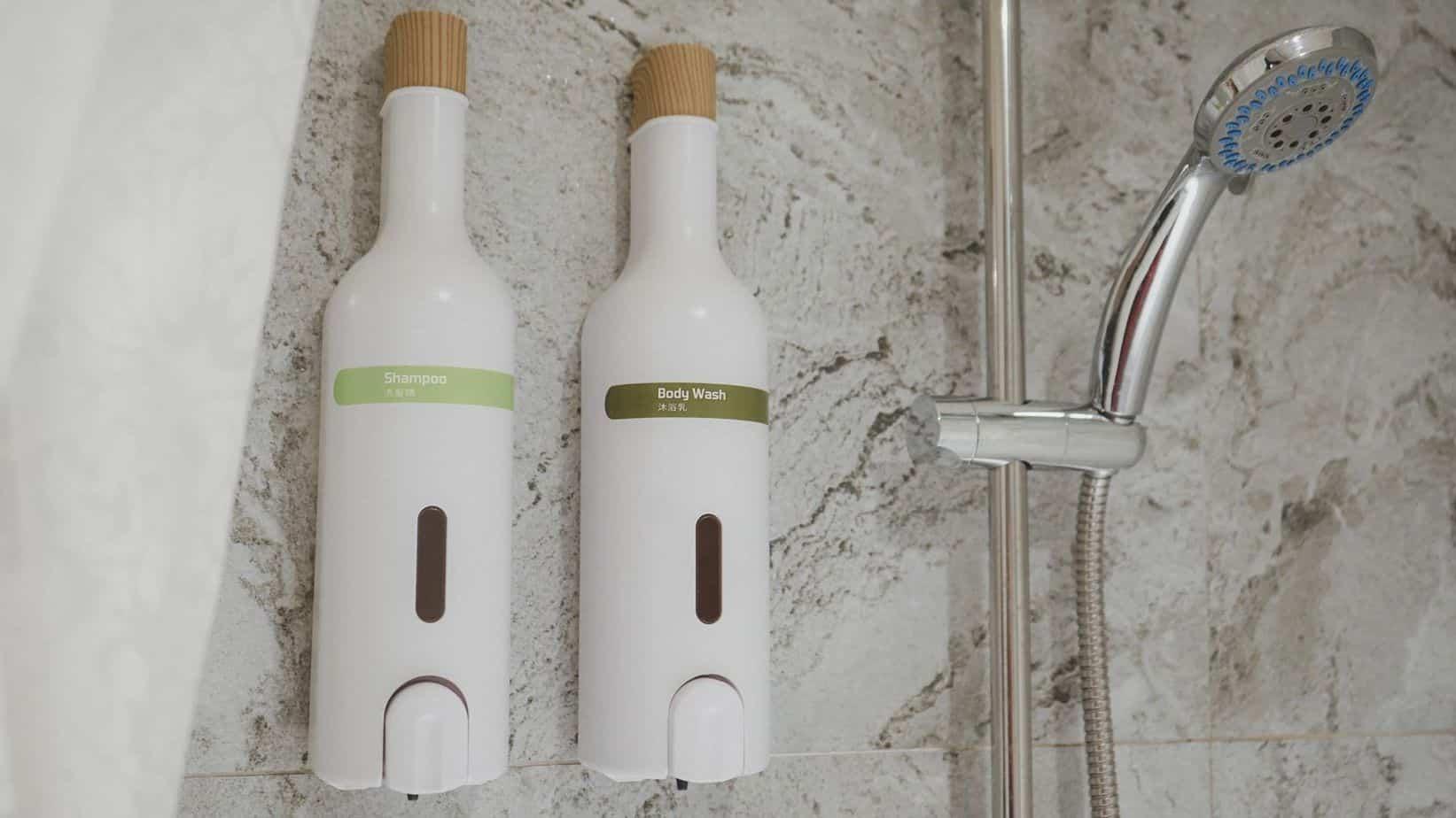 蘭桂坊花園酒店 沐浴設備是使用知名的歐萊德,在百貨也有他們的專櫃喔