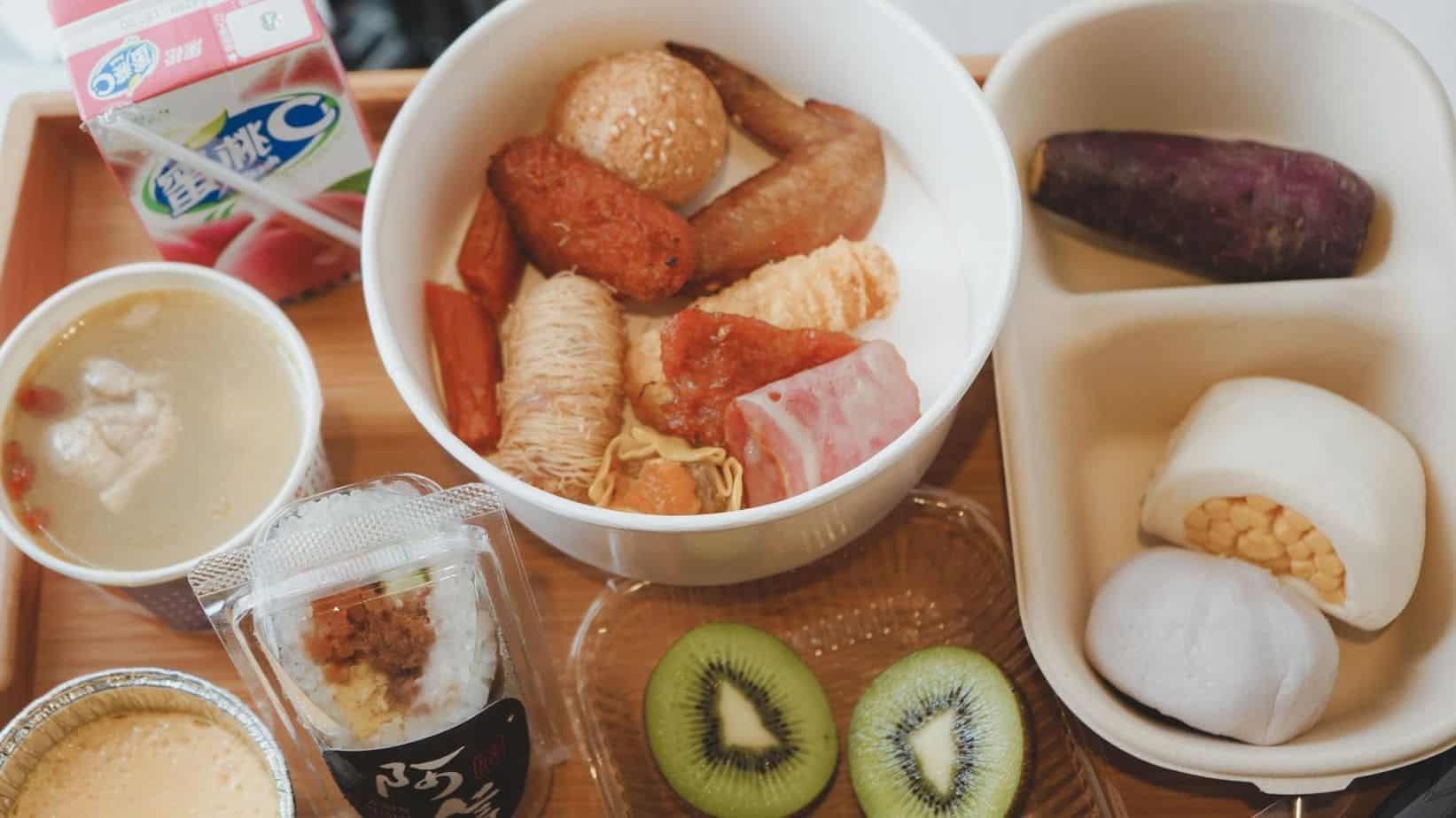 蘭桂坊花園酒店 第一天的早餐