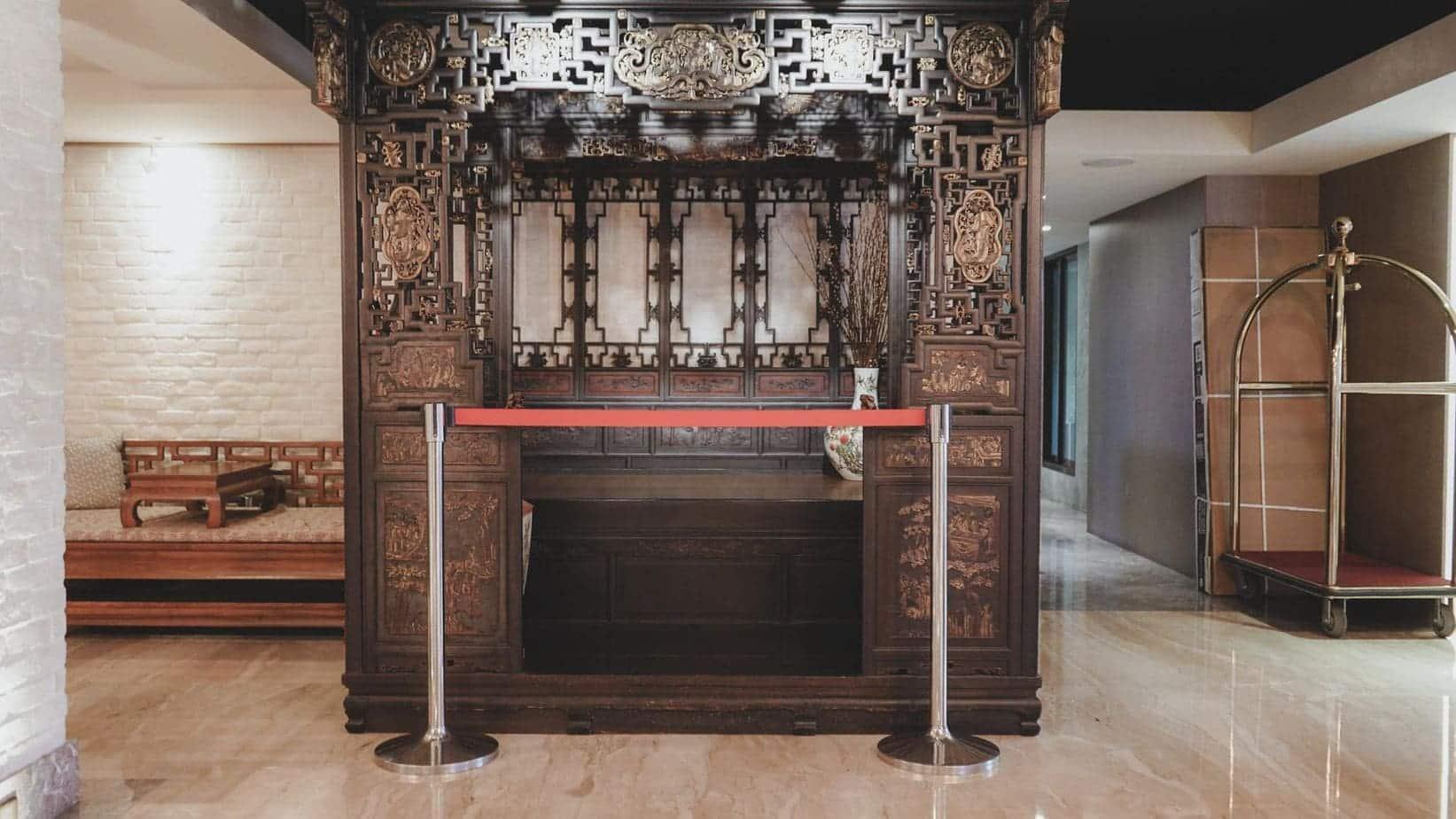 蘭桂坊花園酒店 這個就是傳說中古代的床