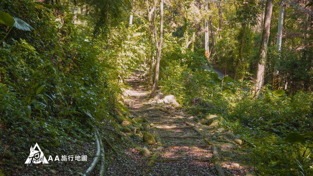 蟬說和社山林後山的松竹梅園區的山路