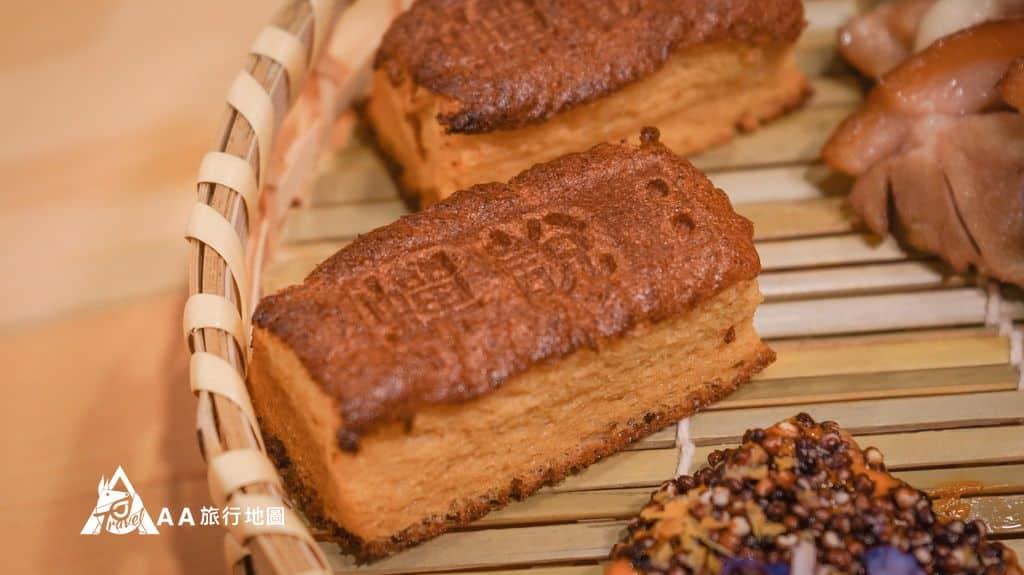 蟬說和社山林晚餐這特別的蛋糕還特別在上面印上了蟬說,讓人印象深刻