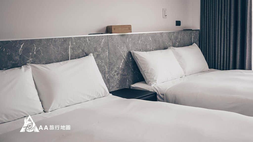 衡定理旅宿四人房的床看起來還不錯