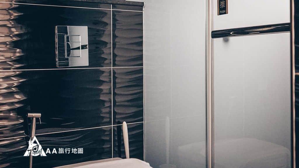衡定理旅宿我們住的房人房廁所另一側