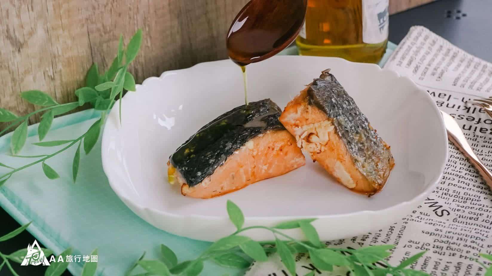 餓貳市場 富含DHA的鮭魚, Aa 還是喜歡來點油