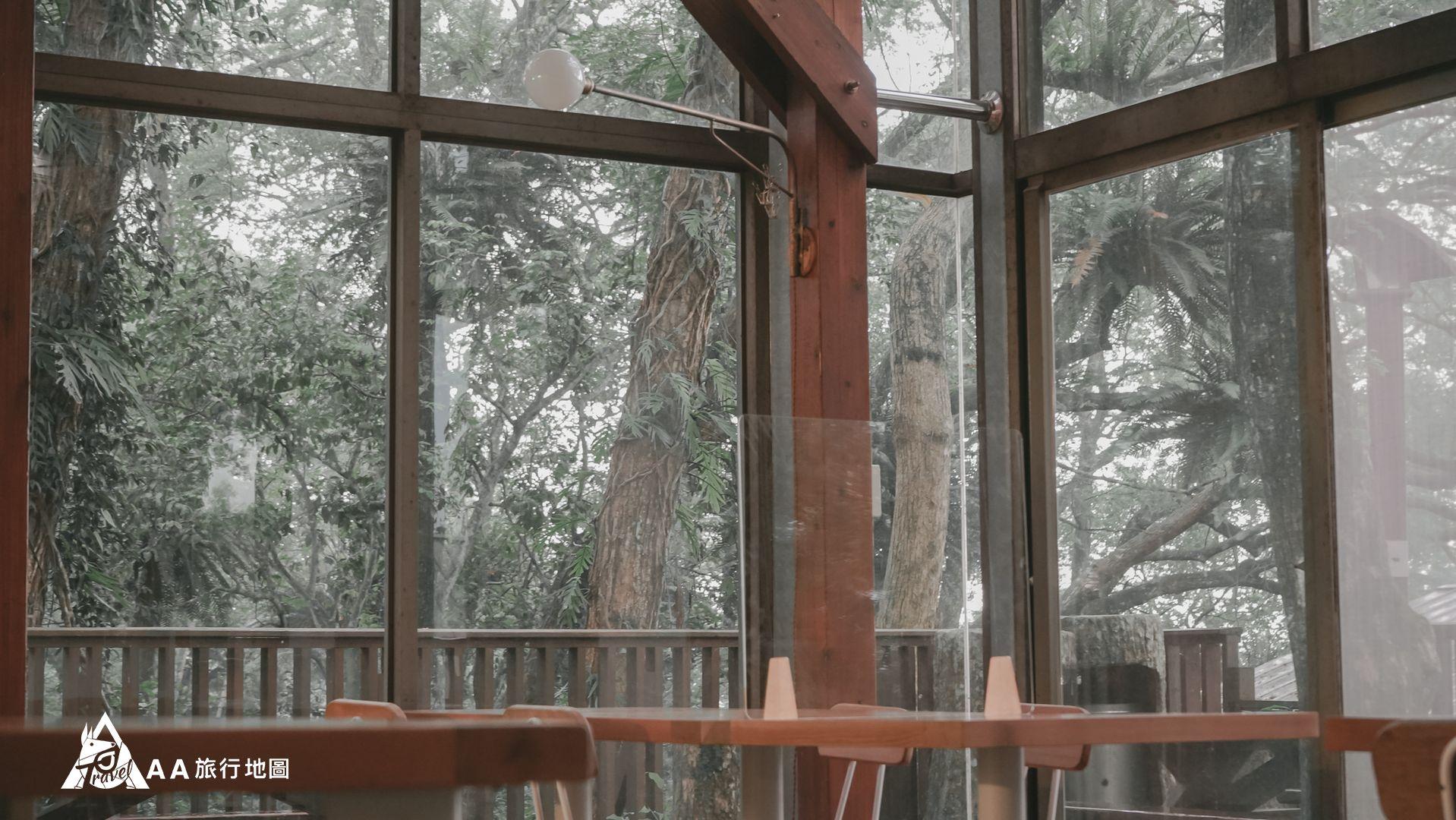 鳳凰亭序 餐廳的採光非常好,而且有一種在大自然中用餐的感覺