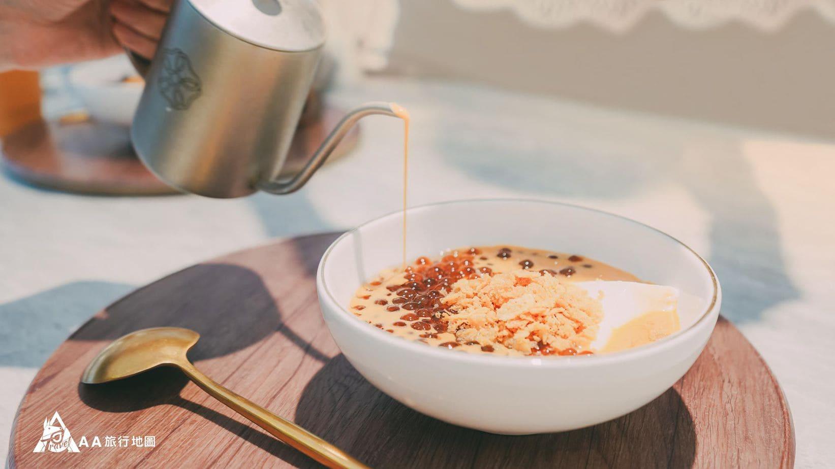 壺豆花 泰式奶茶