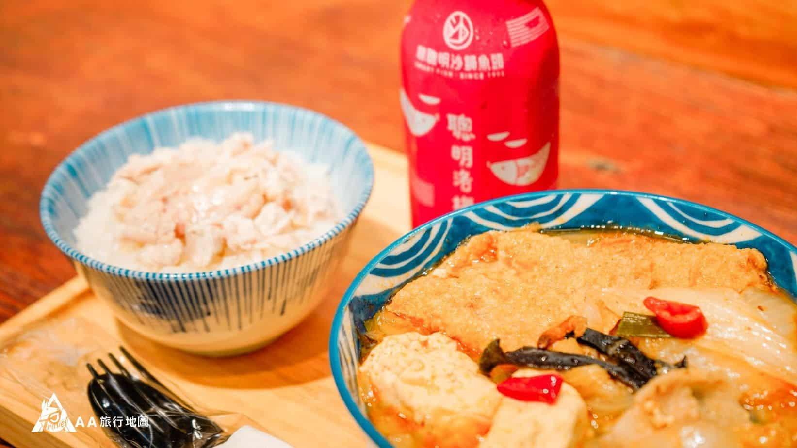 林聰明 標準配備 G肉飯+沙鍋菜+涼的