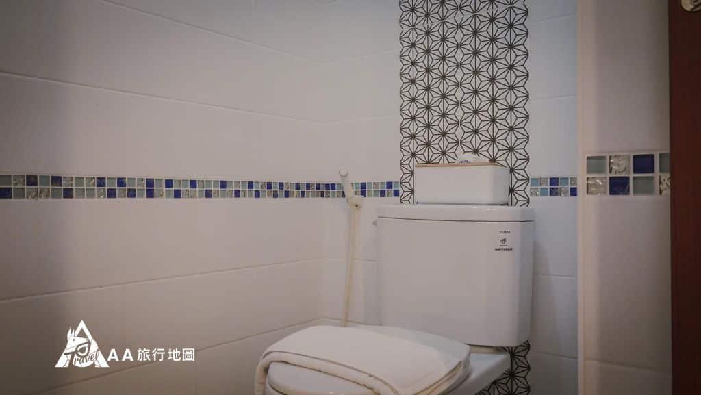 TAIPEIYES浴廁使用的都是TOTO的,品質有一定的保證